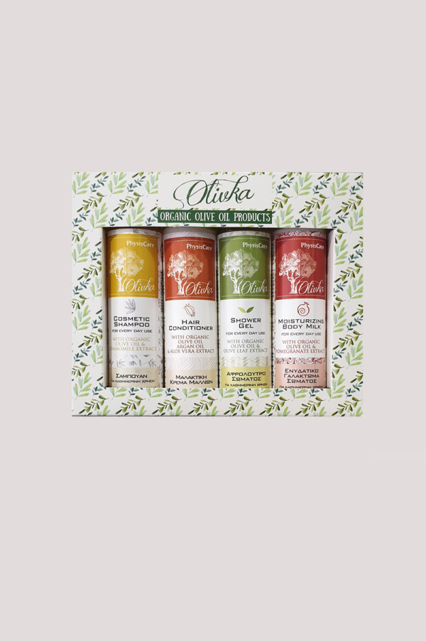 travel set oraganic olive oil